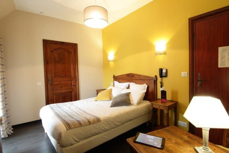 Chambre double standard à L'hôtel La Couleuvrine à Sarlat