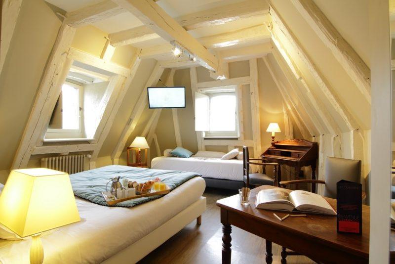 Chambre confort hôtel la couleuvrine à sarlat